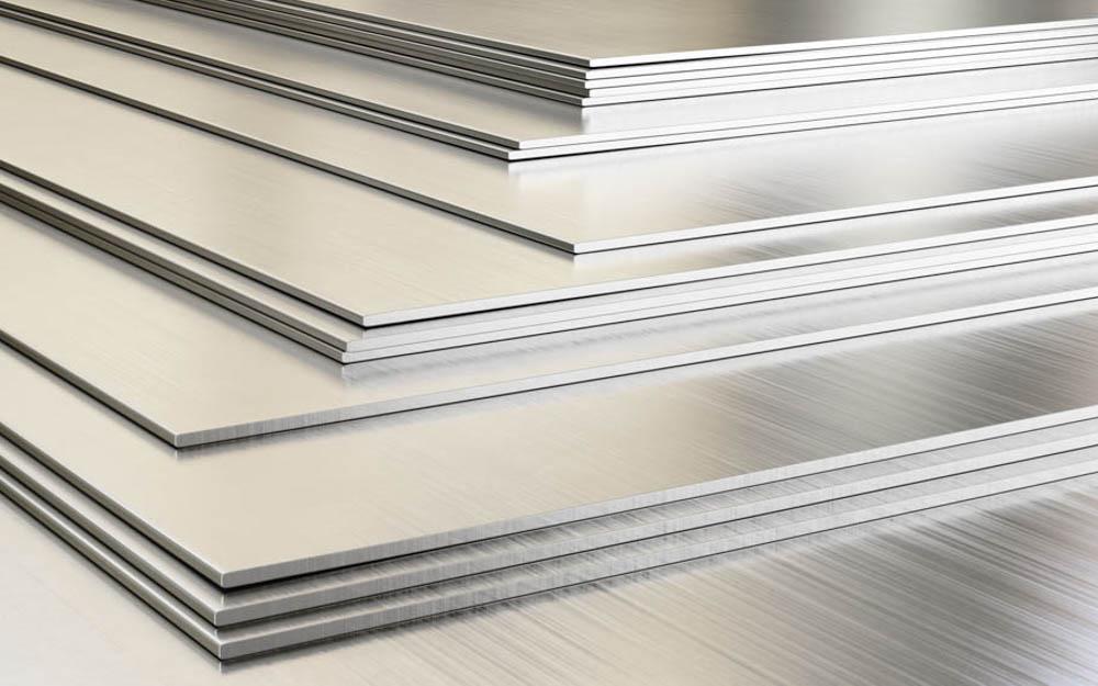 Stock de chapa y material metálico