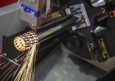 Corte de tubos con sistema láser en Salamanca